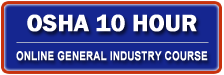 Osha 10 Hour General Industry Outreach Training Course