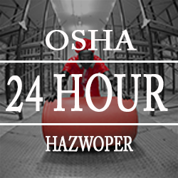 Image to identify this as the OSHA 24 hour HAZWOPER class