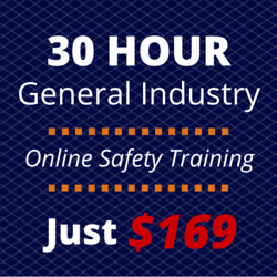 Graphic for the 30 hour general industry page