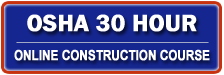 Osha 30 Hour Construction Outreach Training Course