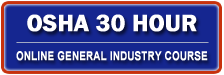 Osha 30 Hour General Industry Outreach Training Course