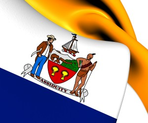 Flag of City of Albany New York