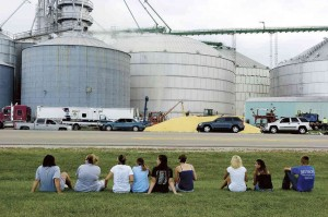 Grain silos are a cause of unexpected danger and death