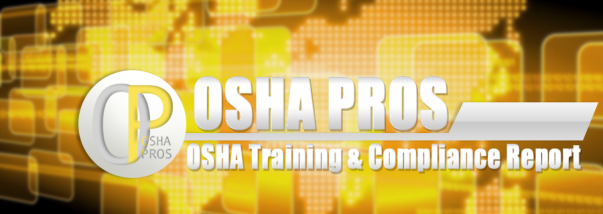 OSHA Training newsletter header graphic
