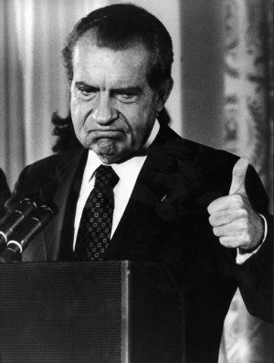 Richard Nixon was probably not thinking about OSHA training when this...or any other...picture was taken